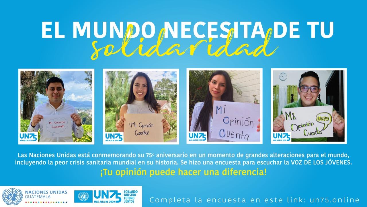 Unidos por el futuro que queremos UN75