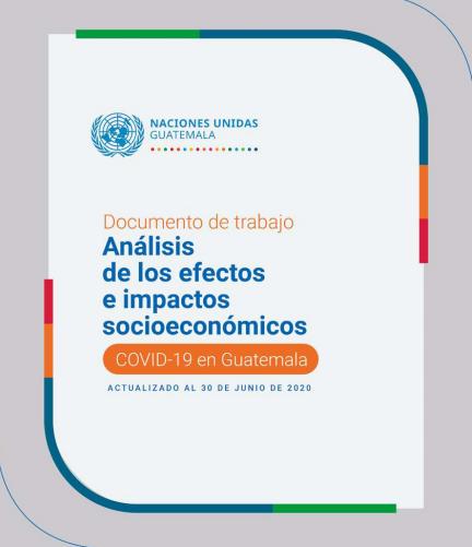 Análisis de los efectos e impactos socieconómicos COVID-19