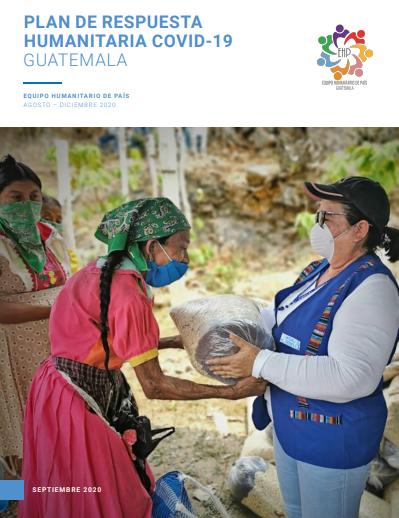 Plan De Respuesta Humanitaria COVID-19 Guatemala