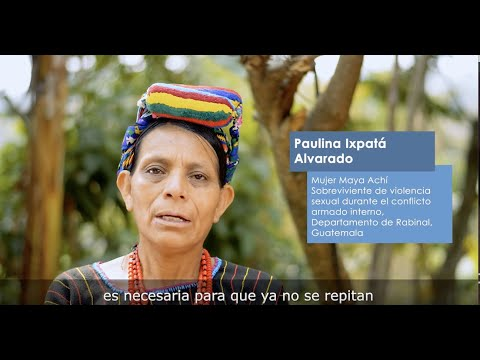 Proyecto 1325: Empoderando a Mujeres Sobrevivientes de Violencia Sexual y de Genero relacionadas con el Conflicto y Postconflicto en Guatemala